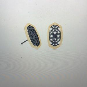 Kendra Scott Ellie Gold Stud Earrings